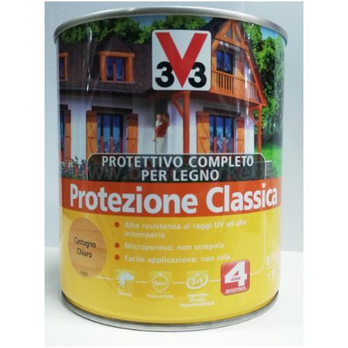 PROTETTIVO PER LEGNOCOMPLETO CASTAGNO CHIARO 0.75LT