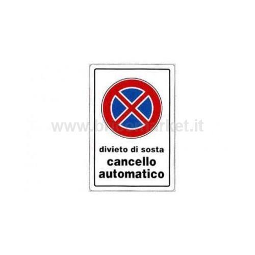CARTELLO CANCELLO AUTOMATICO 30X20