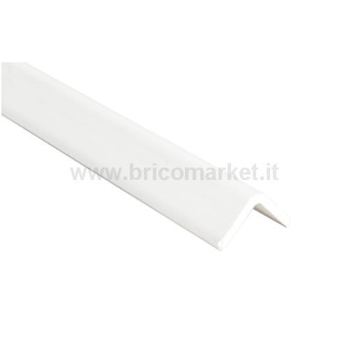 PARASPIGOLO PVC CM. 2.4X2.4X300 BIANCO