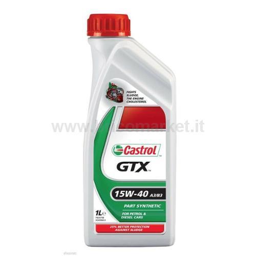 CASTROL GTX 15W40 A3/B3 LT.1