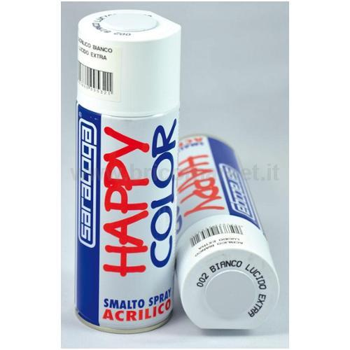 HAPPY COLOR ML.400 BIANCO LUCIDO EXTRA