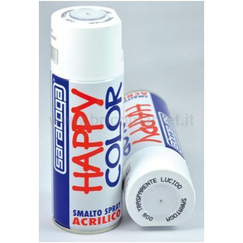 HAPPY COLOR ML.400 TRASPARENTE LUCIDO
