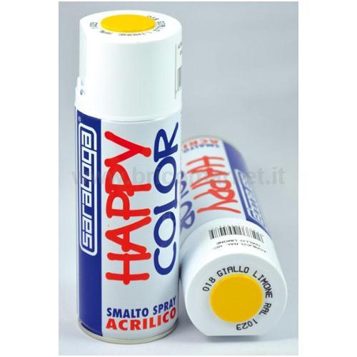 HAPPY COLOR ML.400 GIALLO LIMONE RAL1023