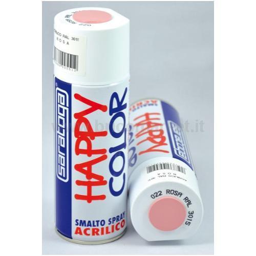 HAPPY COLOR ML.400 ROSA RAL.3015