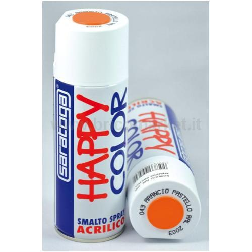 HAPPY COLOR ML.400 ARANCIO PAST.RAL2003