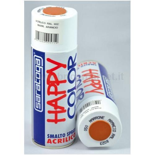 HAPPY COLOR ML.400 MARRONE ARANCIO