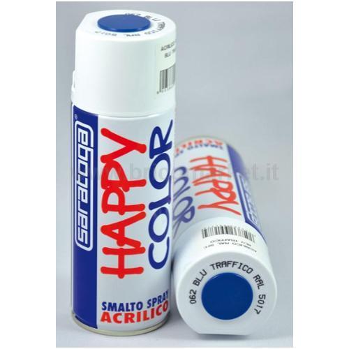 HAPPY COLOR ML.400 BLU TRAFF.RAL5017