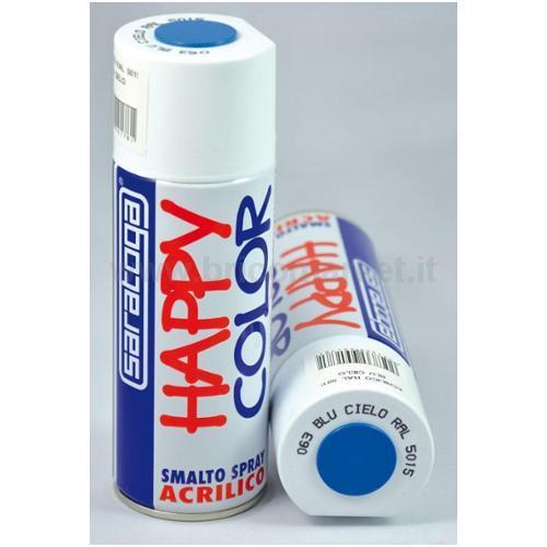 HAPPY COLOR ML.400 BLU CIELO RAL.5015