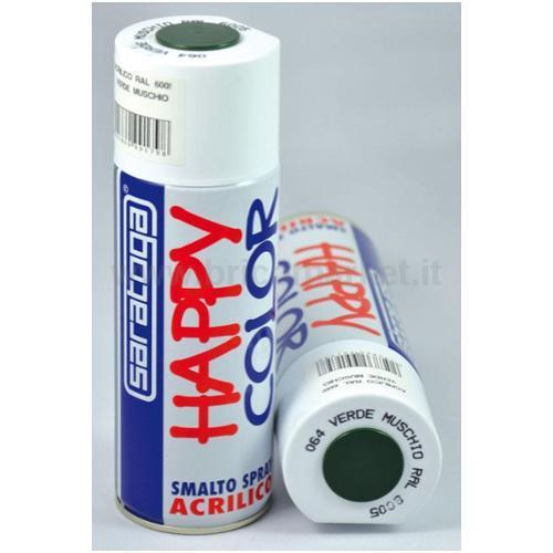 HAPPY COLOR ML.400 VERDE MUSC.RAL6005