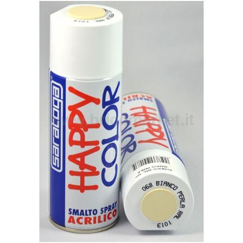 HAPPY COLOR ML.400 BIANCO PER.RAL1013