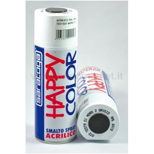 HAPPY COLOR MARR/GRIG. RAL8019 ML.4000