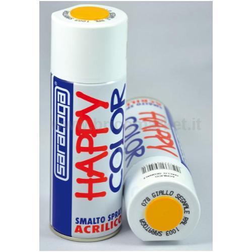 HAPPY COLOR GIALLO SEG.RAL1003 ML.400