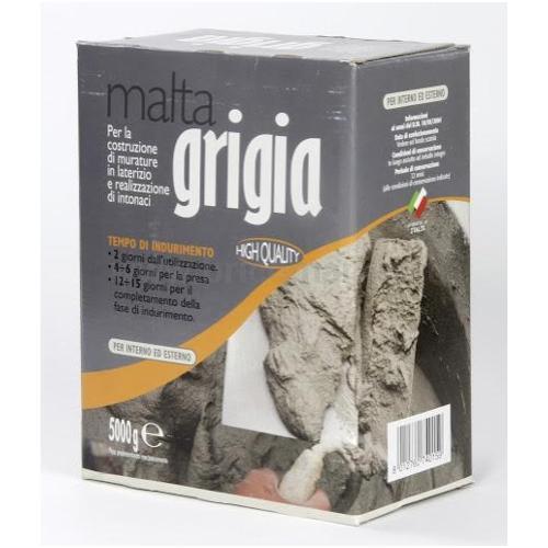 MALTA PRONTA GRIGIA KG.5