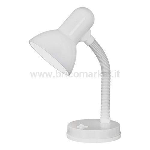 BASIC - LAMPADA STUDIO FLEX 1L X 60W E27 BIANCO