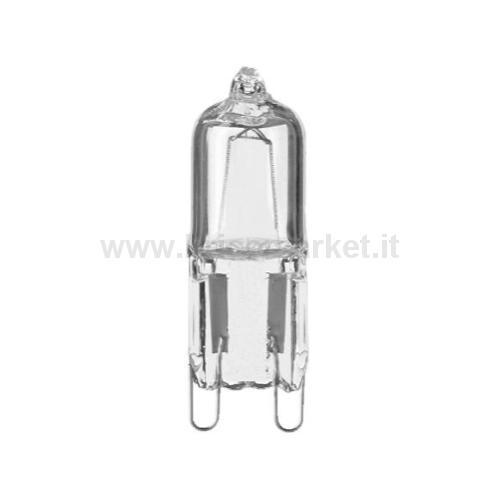 LAMPADA ALOGENA 40W-230V BISPINA G9 CHIARA BLISTER