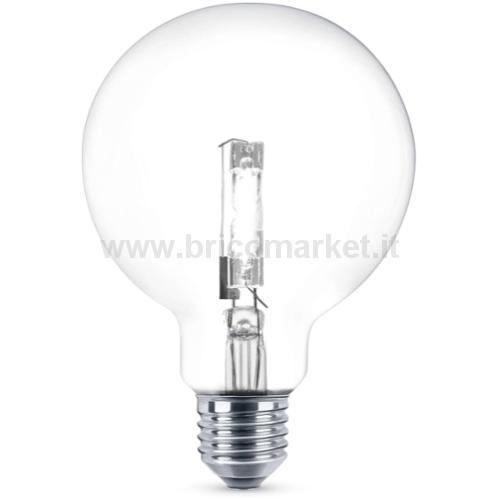 LAMPADA ALOGENA 120WGLOBO E27 2000ORE