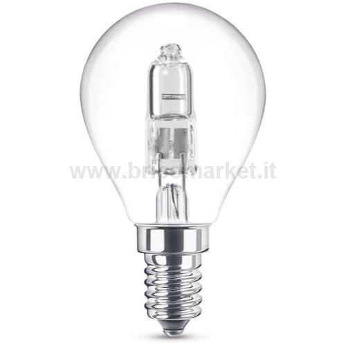 LAMPADA ALOGENA SFERA E14 42W