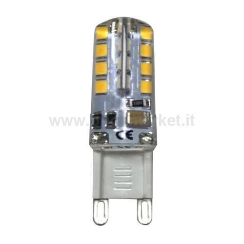 LAMPADA LED BISP. 3W48 LED G9 230V LUCE NAT.
