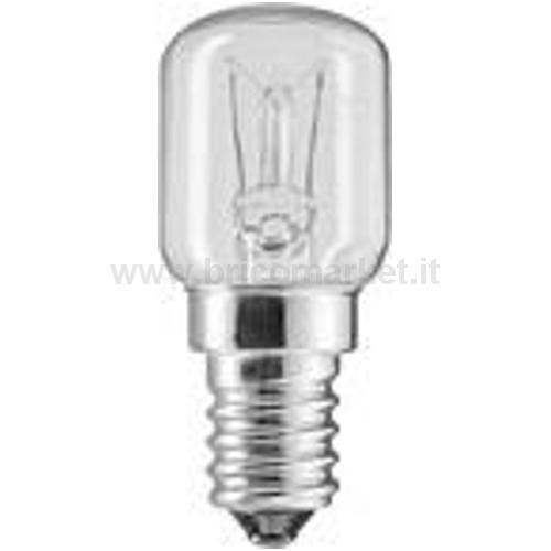 LAMPADA E14 PICC. PERA PER FORNO 15W