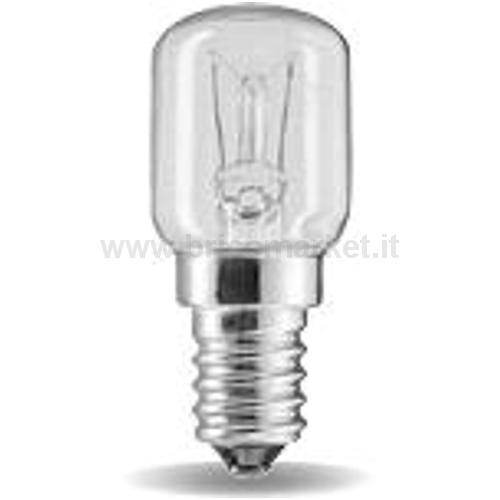 LAMPADA INCANDESCENZA 15W PICCOLA PERA CHIARA E14