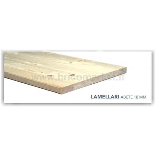 TAVOLA ABETE LAMELLARE 300X40X1.8CM