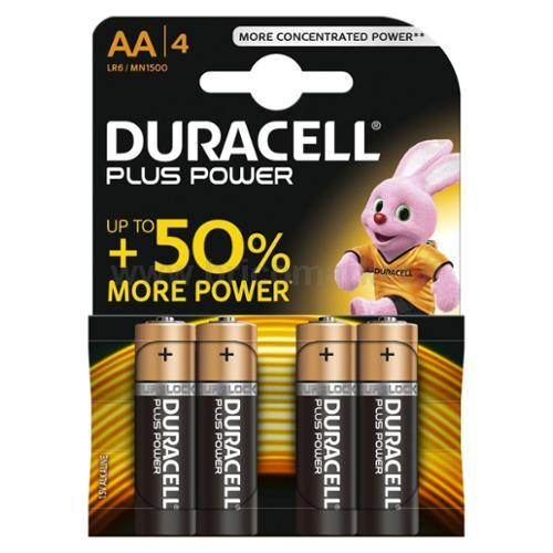 PILA DURACELL PLUS POWER STILO AA 1500 PZ.4