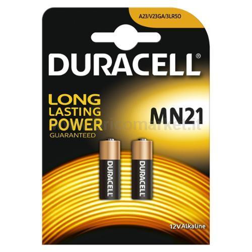PILA DURACELL MN21 12V APRICANCELLO/MACCHINA PZ.2