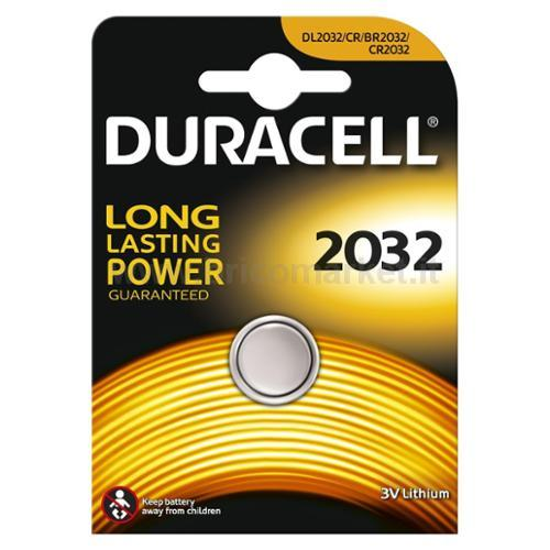 PILA DURACELL 2032 ELETTRONICA
