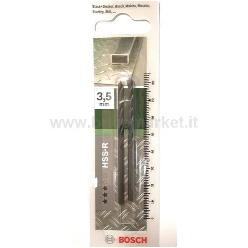 PUNTA METALLO HSS-R 3.5X39X70 118 PZ 2