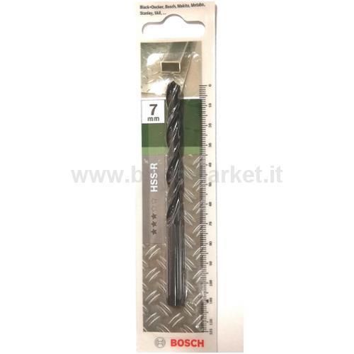 PUNTA METALLO HSS-R 7X69X109 118 PZ 1