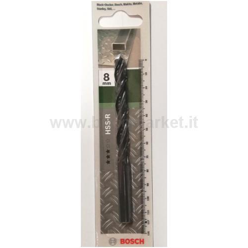 PUNTA METALLO HSS-R 8X75X117 118 PZ 1