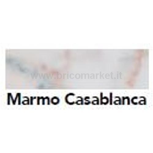 BORDO PRECOLLATO MARMO CASABLANCA MM 33 X M. 5