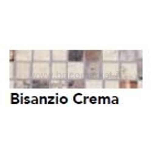 BORDO PRECOLLATO BISANZIO CREMA MM. 33 X M. 5