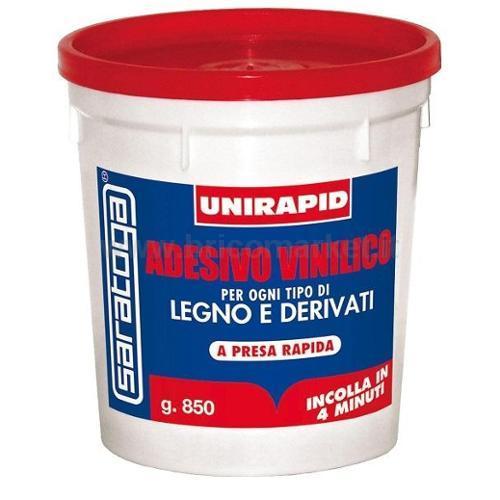 UNIRAPID VINILICO LEGNO BARATTOLO GR.850