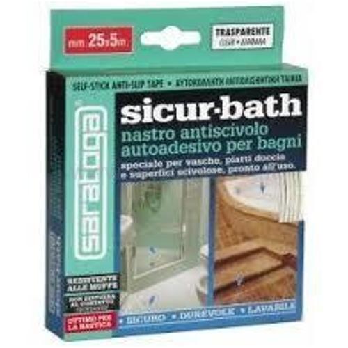 SICUR-BATH TRASPARENTE ASTUCCIO CM.2,5X500