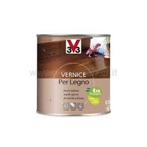 VERNICE PER LEGNO ASPETTO OPACO LT 0.50 WENGHE