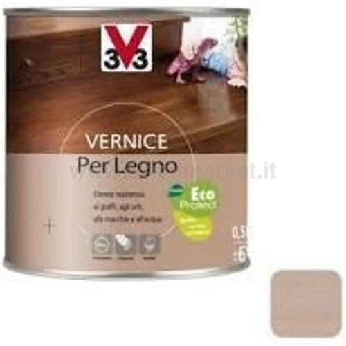 VERNICE PER LEGNO ASPETTO OPACO LT 0.50 BIANCO