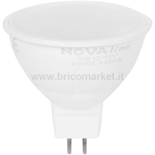 LAMPADA LED DICROICA MR 16,35 220 LUMEN LUCE NATURALE
