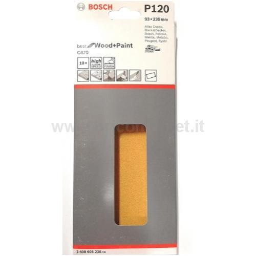 ABR.X ORB. BEST WOOD 93X230MM G.120 10PZ