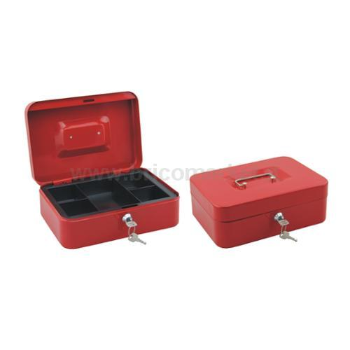 CASH BOX COLOR RED MM 25X20X9