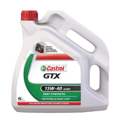 LUBRIFICANTE CASTROL GTX LT.4 15W40