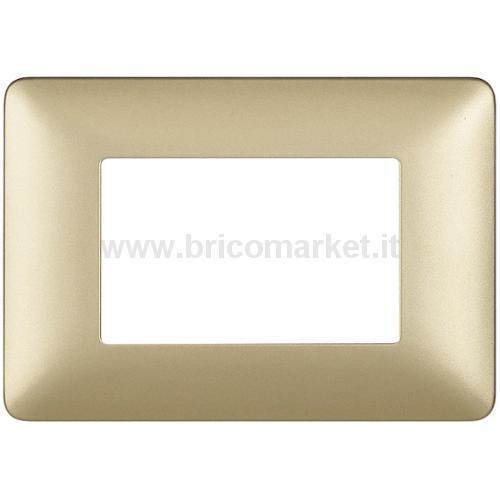 PLACCA SERIE MATIX 3P GOLD