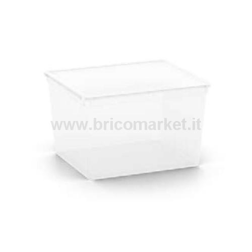 C-BOX CUBE 40 X 34 X 25 H TRASPARENTE