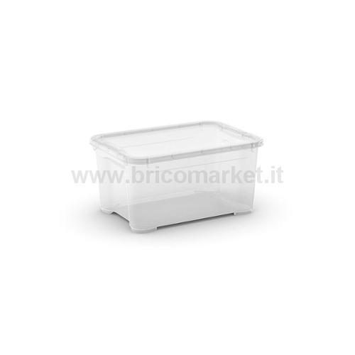 T-BOX XS 38 X .5 X 19 H TRASPARENTE