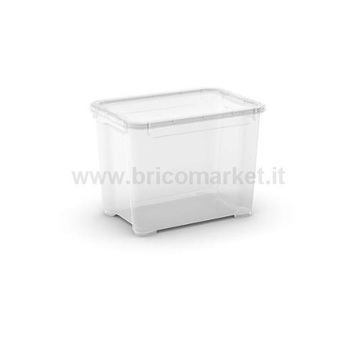 T-BOX S 38 X .5 X 28.5 H TRASPARENTE