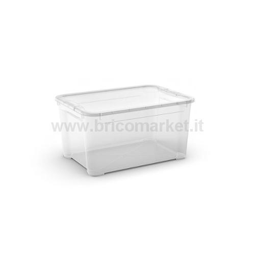 T-BOX M 55.5 X 39 X 19 H TRASPARENTE