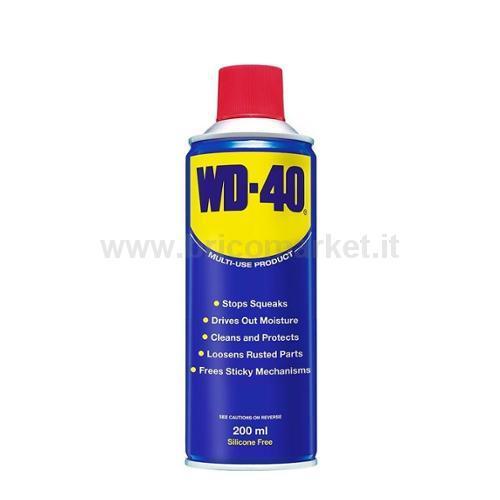 LUBRIFICANTE MULTIFUNZIONE WD-40 200ML SPRAY