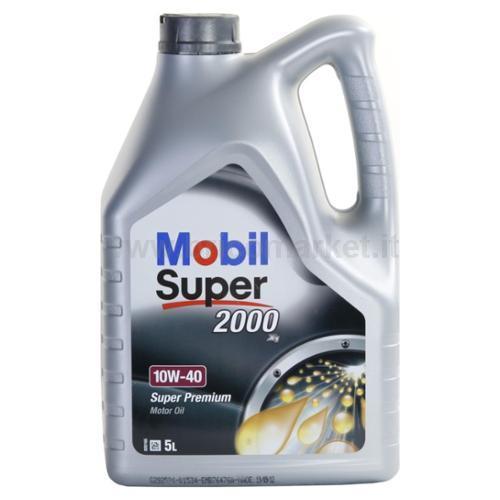 MOBIL SUPER 2000 10W40 LT. 5