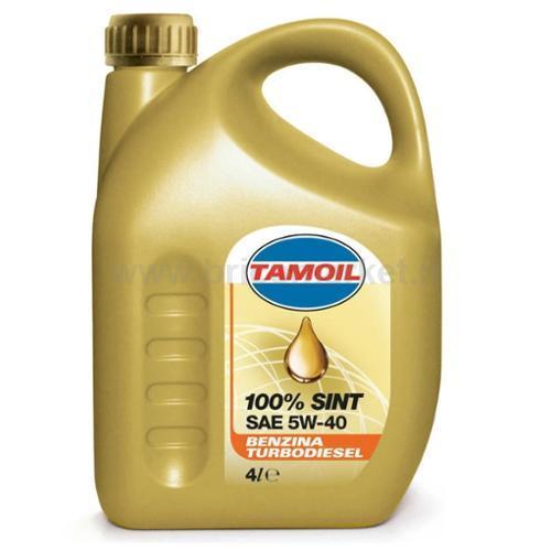 TAMOIL 100% SINT 5W40 B-D LT.4