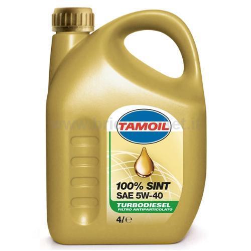 TAMOIL 100% SINT 5W40 TD LT.4